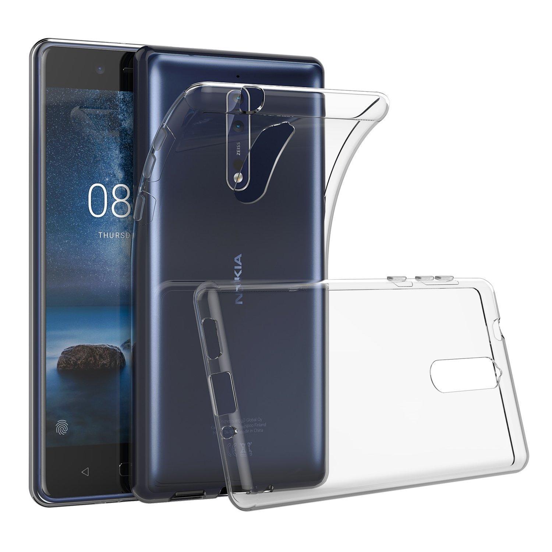 ECS Transparent Soft Back Case Cover For Nokia 5