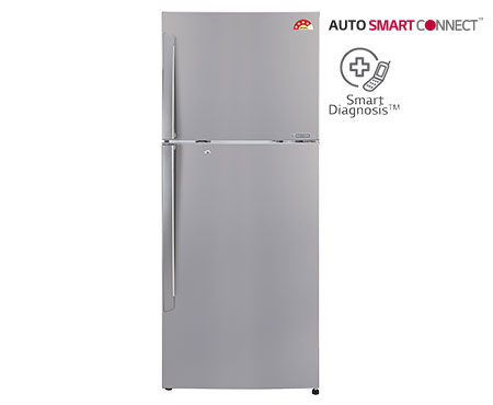 Lg 308 L Gl I322Rpzl Frost Free Double Door 4 Star Refrigerator   Shiny Steel