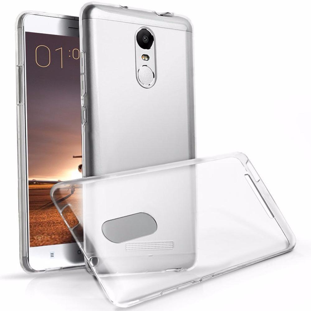 Redmi Note 4 Premium Quality Ultra Thin Transparent Back Cover
