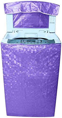Khushi creations Washing Machine Cover  Purple