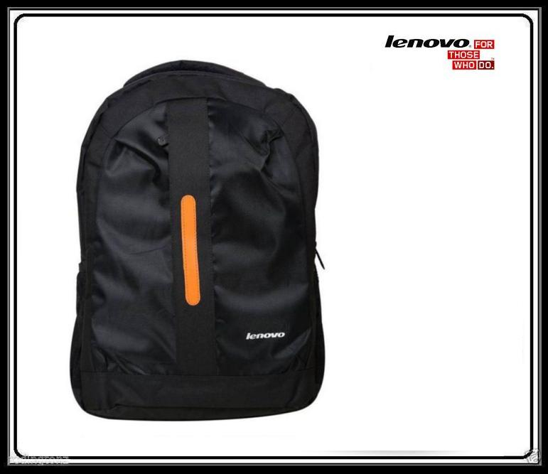Lenovo 15.6 inch Laptop Backpack Bag  Black