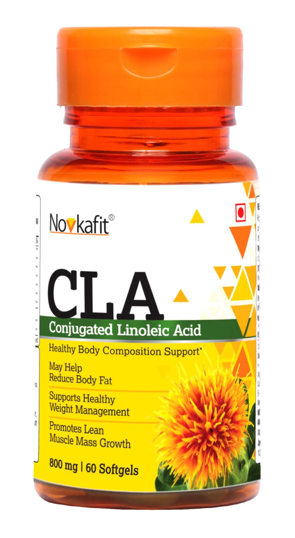 Novkafit CLA 1000, Conjugated Linoleic Acid   60 Softgel Capsules
