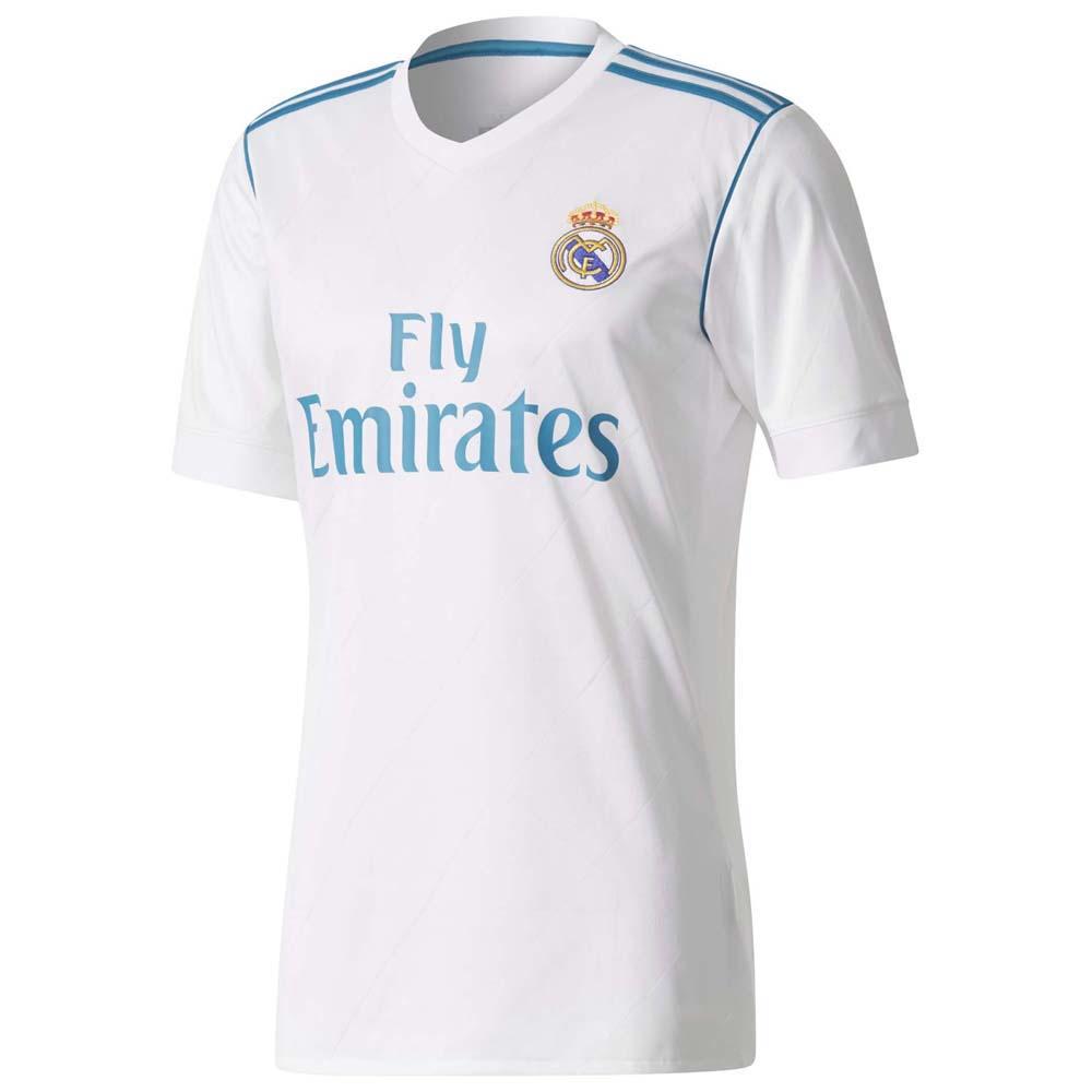 Navex Real Madrid 2017 18 kit White Short Sleeve