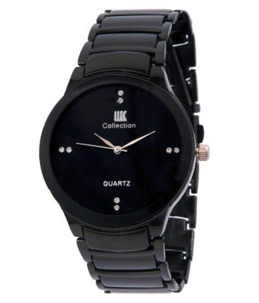TRUE COLORS MAN IN BLACK Unique IIK Collection Analog Watch   For Boys, Men by HK