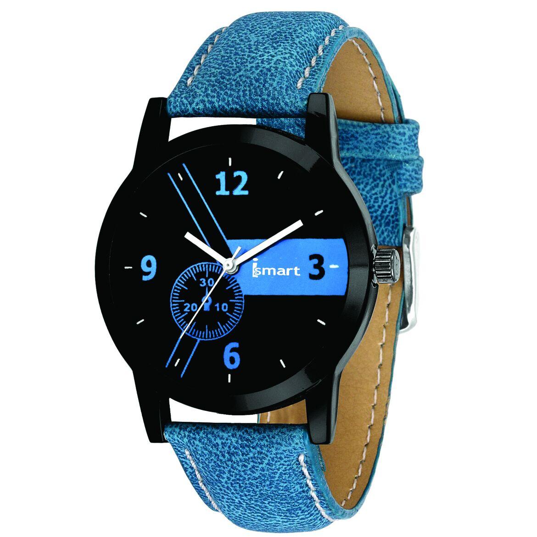 Ismart Mens Boys Analog Wrist Watches