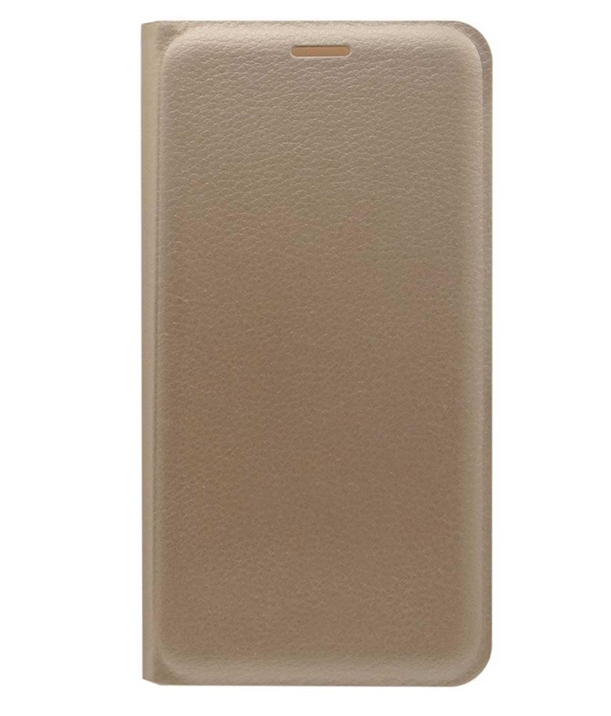 TBZ Flip Cover Case for Samsung Galaxy C9 Pro  Golden