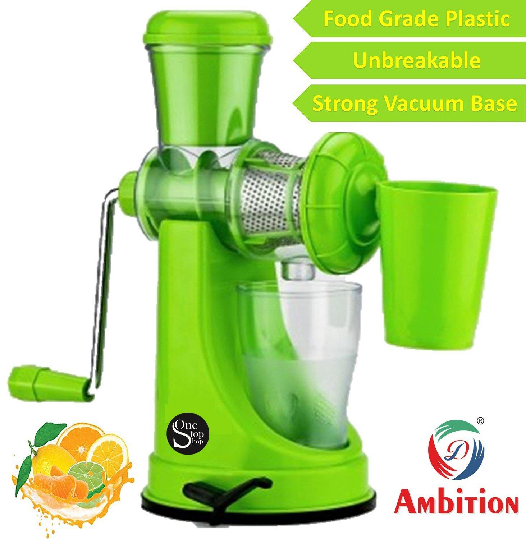SRK Ambition Fruit Vegetable Juicer With Waste Collector