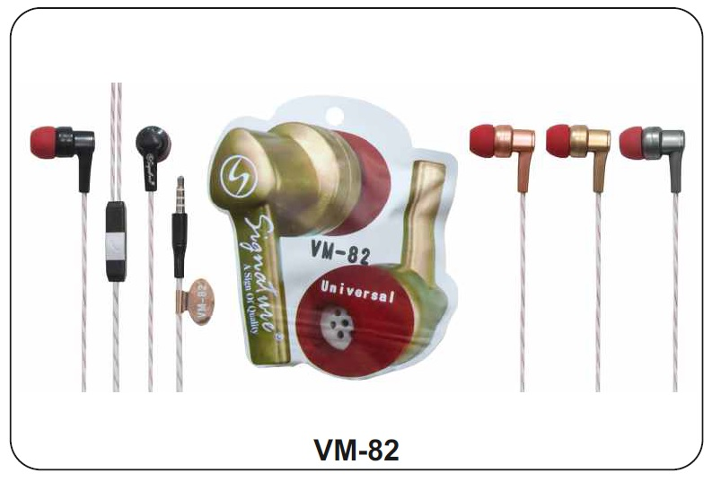 Signature VM 82 In ear Wired Earphone with Mic