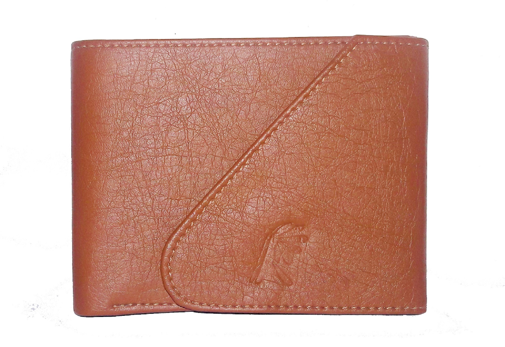 SGM Men Tan Artificial Leather Wallet  Synthetic leather/Rexine