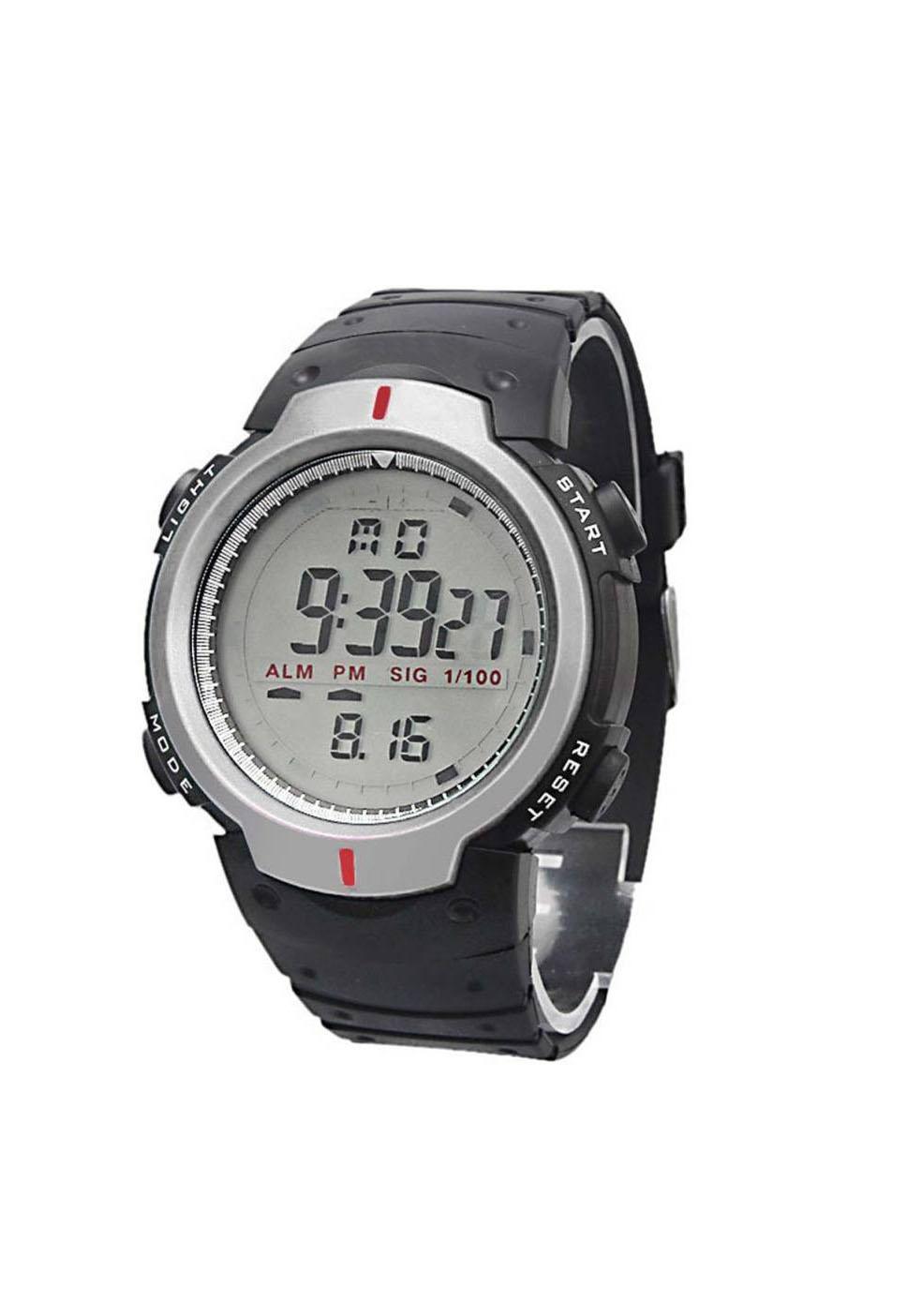 Skmei Digital Sport Silver Dile Digital Watch For Men ,Boys 6 month warranty