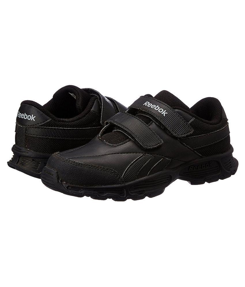 Reebok Racer Black Velcro Kids School Shoes. Buy Alberto Torresi Goro Brown Boots  online at best ... a76542c27