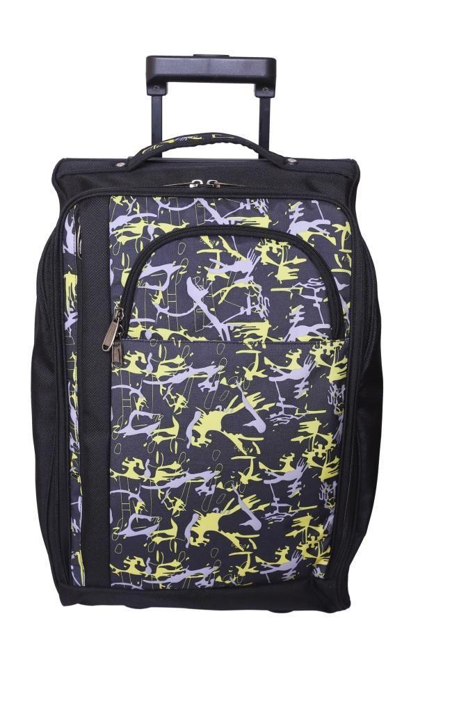 Bagsrus cabin Laptop Trolley featherlitetravel Bag black polyester Bag