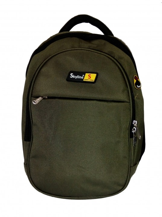 Skyline Laptop Backpack Office Bag Casual Unisex Laptop Bag Green With Warranty  009