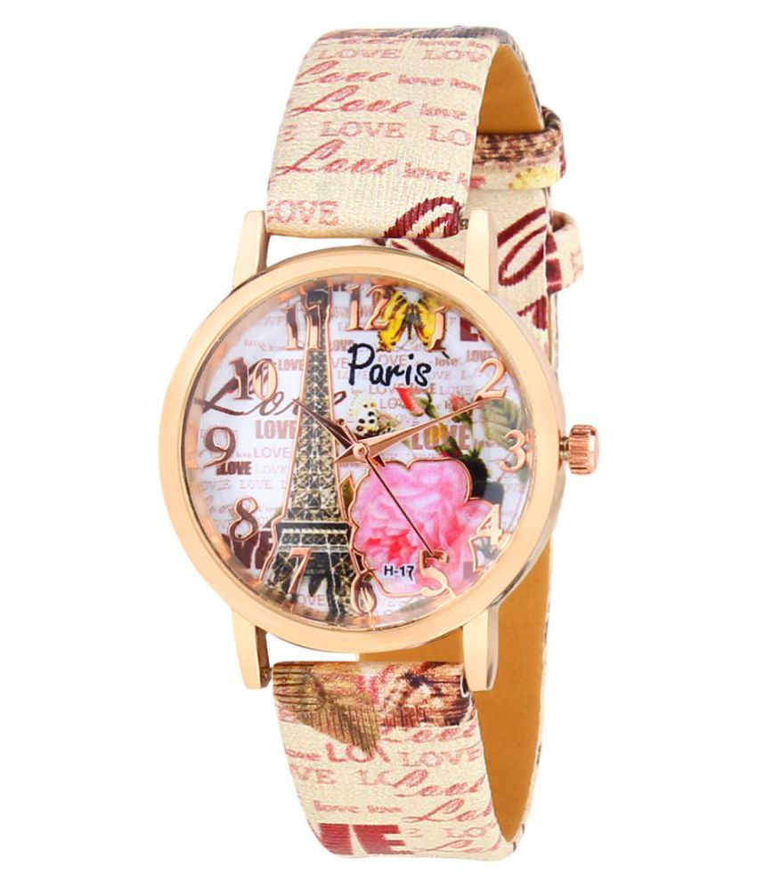 New Stylish Leather Strap for lovers watches Watch   For Girls Watch   For Girls