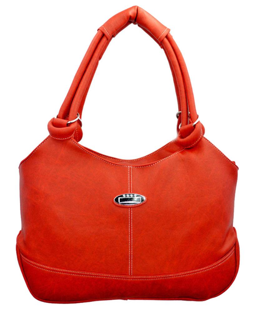 Lady Queen Red P.u. Shoulder Bags