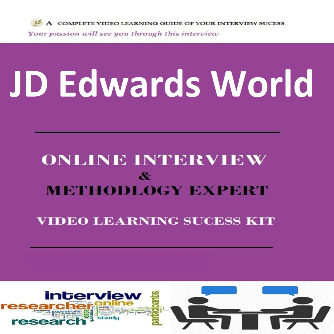 JD Edwards World Online Video Learning Interview SUCCESS KIT