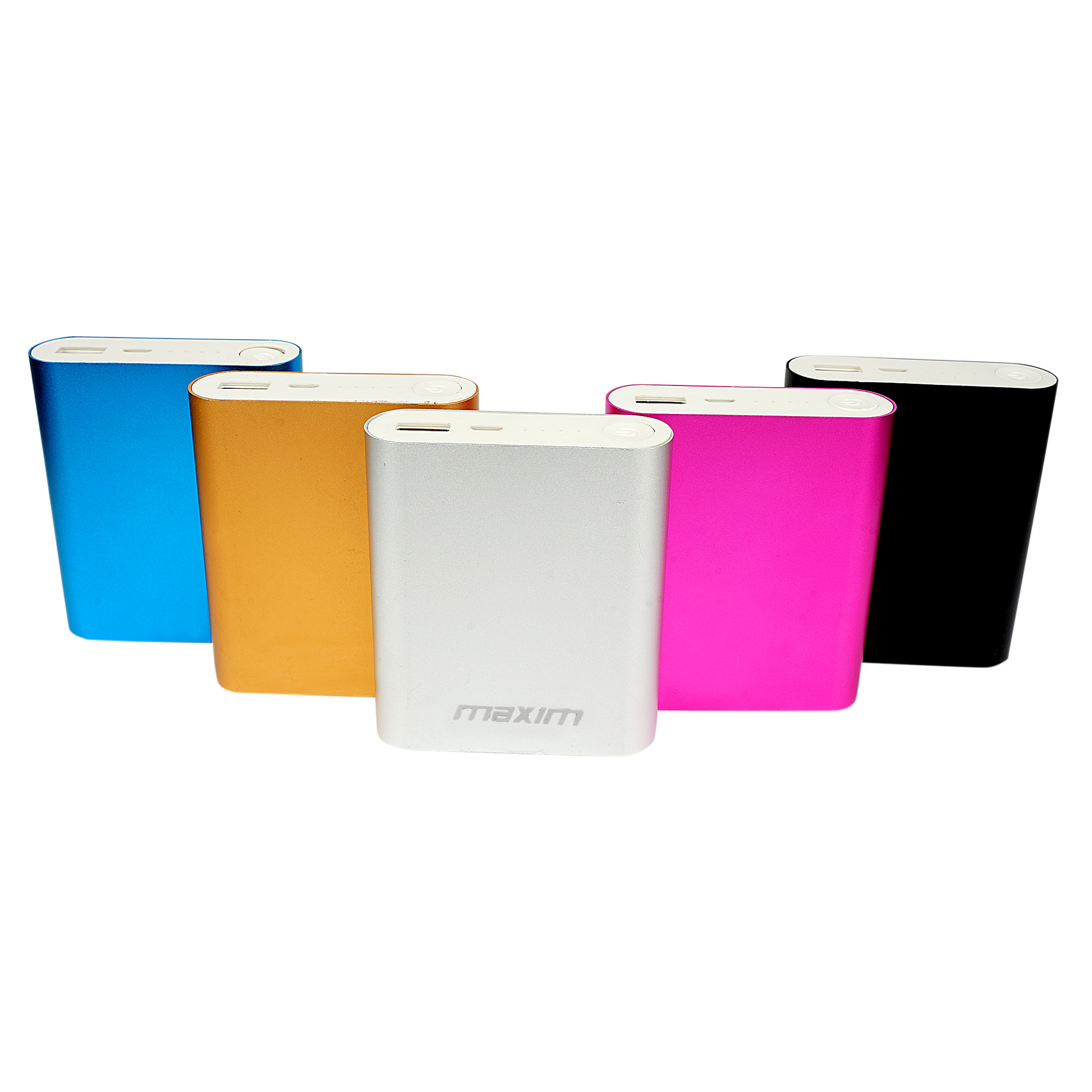 Maxim High Speed Charging 10400 Mah Power Bank  Assorted  With 3 Months Manufacturing Warranty