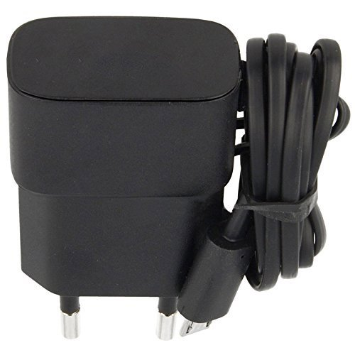 Nokia Micro USB Pin Port 2 Pin Plug Travel Adapter  Black