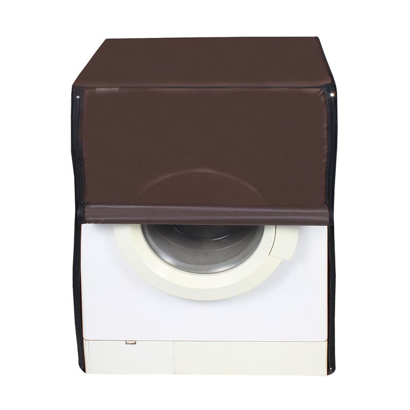 Dream Care Black Washing Machine Cover For Front Load