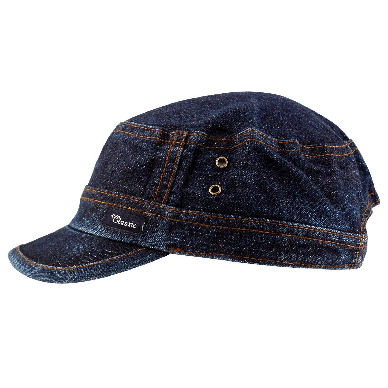 MOCOMO Imported HIGH QUALITY Denim cap for men women