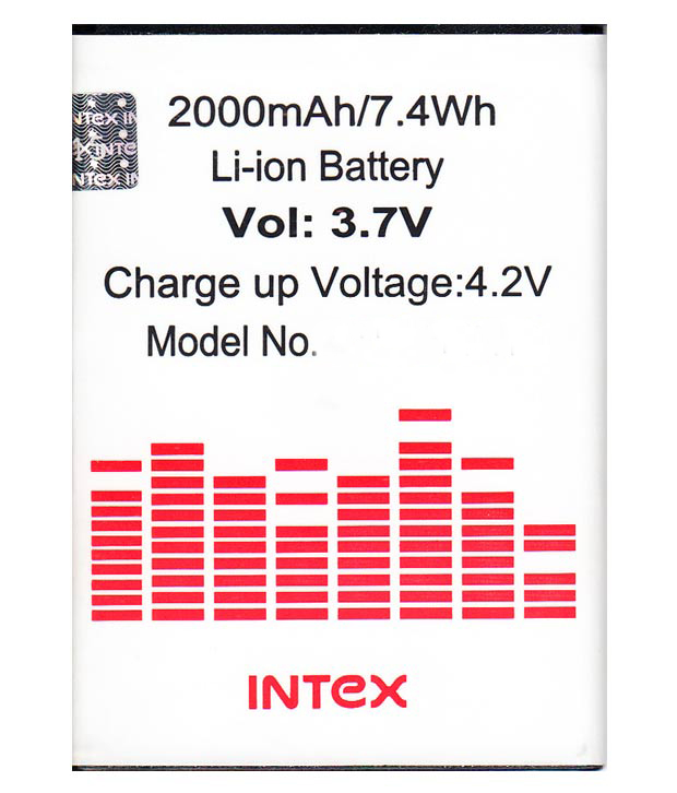 Intex Glory Li Ion Polymer Replacement Battery BR12502