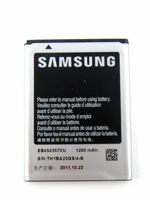 Samsung Galaxy S5360/B5510/S5380/S5368 Li Ion Polymer Replacement Battery EB454357VU