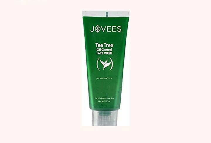 Jovees Tea Tree Oil Control Face Wash, 120ml Set of 2 pc