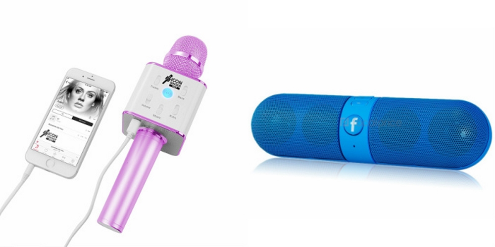 Mirza Q7 Portable Wireless Karaoke Microphone Handheld Condenser Microphone Inbuilt Speaker Microphone and bluetooth speaker  Facebook Speaker ,Facebook Portable Bluetooth Mobile/Tablet Speaker   for SONY xperia z ultra