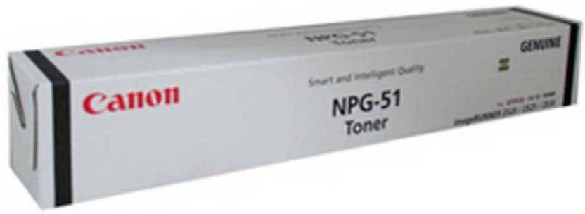 Canon NPG 51 Single Color Toner  Black