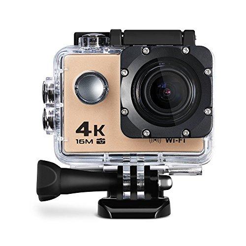 3iVision 1080p Digital Sports Camera 30m Waterproof Ultra HD Helmet Camera 17 Accessories with Built in Mic