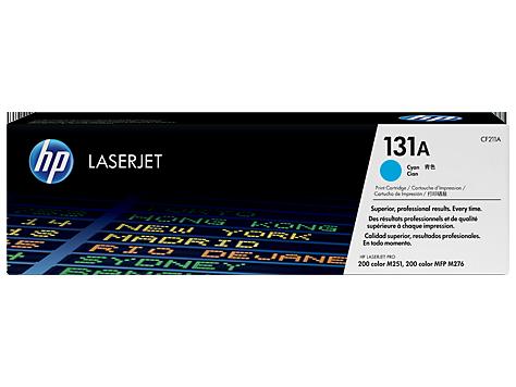 HP 131A Cyan LaserJet Toner Cartridge  Cyan