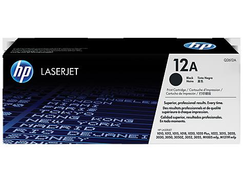 Hp 12A Laser Jet Toner Cartridge