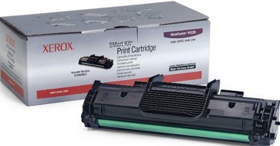 Xerox PE220 Black Toner Cartridge