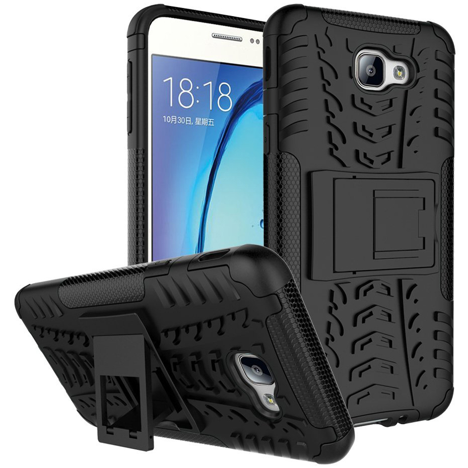 Samsung Galaxy On7 Hybrid Tough Armour Defender Back Case Cover