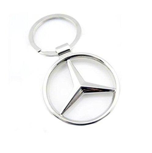 Mercedes Logo Metallic Car Bike Key Chain