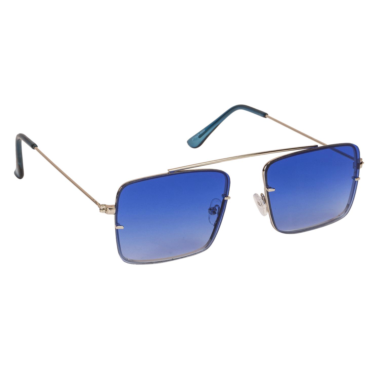 08df731f9f5 Arzonai Raees Blue Rectangle Shape UV Protected Sunglasses for Men s  (MA-9999-S10). Buy Alberto Torresi Goro Brown ...