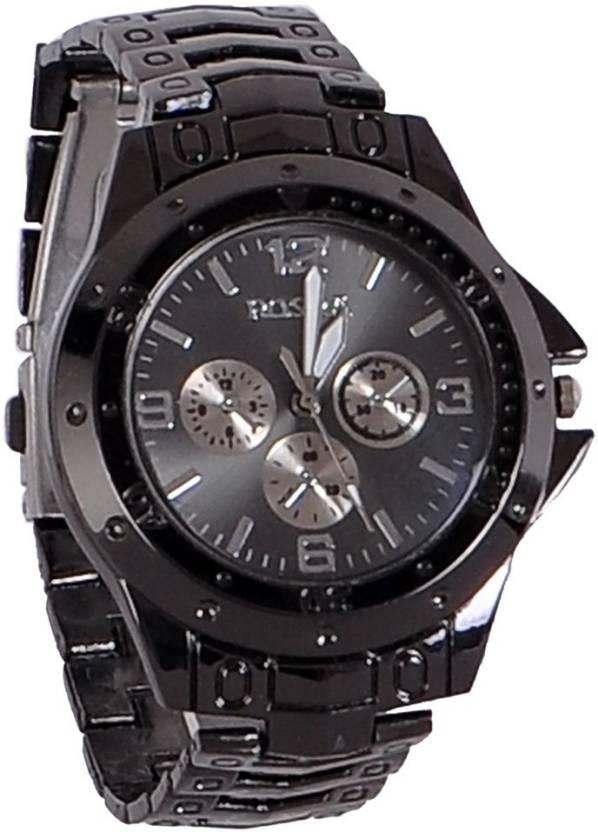 NG New rosra black man analog watch For Men