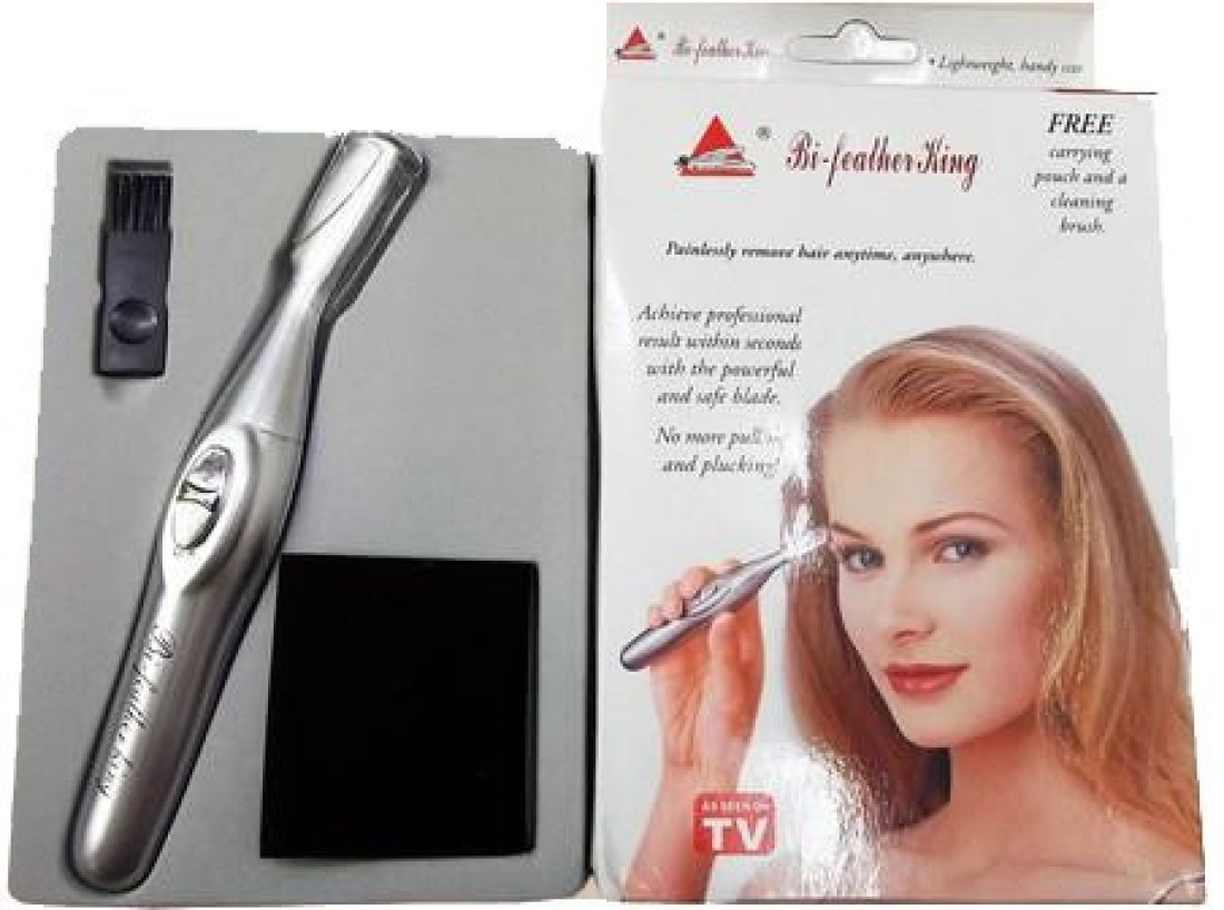 Bi Feather King Eye Brow Trimmer Safe And Easy Hair Remover Rf 818 Trimmer For Women