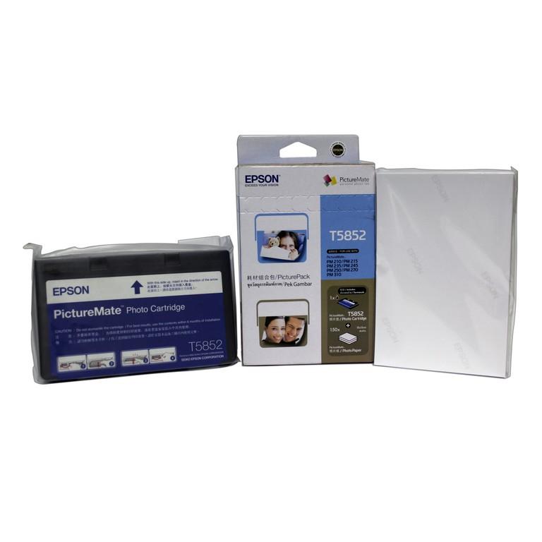 Epson T5852 Photo Cartridge For PM210, PM215, PM235, PM245, PM250, PM270, PM310 Multi Color Ink  Multicolor