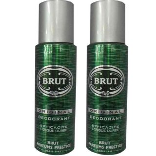 Brut  Deo Combo Pack Of 2 (200ml Each)