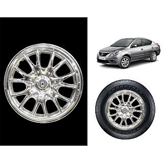 Vheelocity C4 - 14 Chrome Wheelcap / Wheelcover For Nissan Sunny