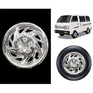 Vheelocity C5 - 12 Chrome Wheelcap / Wheelcover For Maruti Suzuki Omni Van
