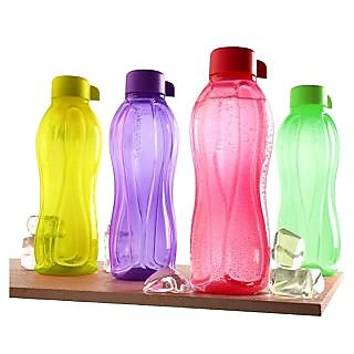 Tupperware 1000ML Aquasafe Water Bottles - Set Of 2
