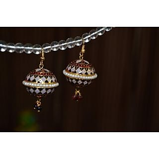 Jaipur Meenakari Earring Set