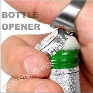 Good Quality Hard Steel Finger Ring Bottle Opener