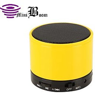 Callmate Sonicten Bluetooth Speaker with Free Anti Slip Mat - Yellow