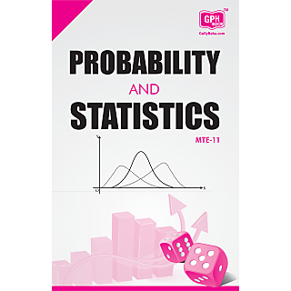 MTE11 Probability and Statistics (IGNOU Help book for MTE-11  in English Medium)