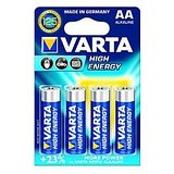 VARTA High Energy 4 AA Size Alkaline Batteries ( Pack Of 5 Pcs. )
