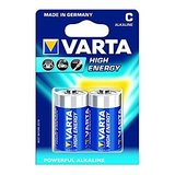 VARTA High Energy 2 C Size Alkaline Batteries ( Pack Of 5 Pcs. )