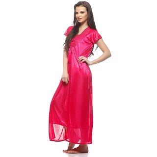 15a31deeea Online Sukuma Sassy Look 2 Pc Satin Nighty with Robe Prices ...